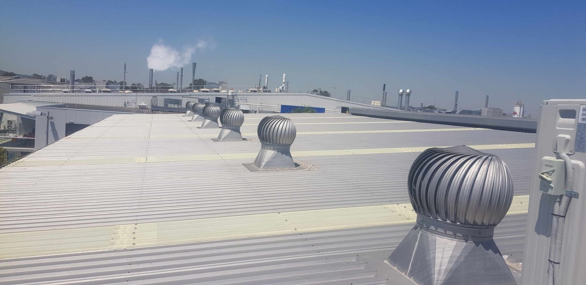 Commercial Brisbane Roof Leaks and roof repairs